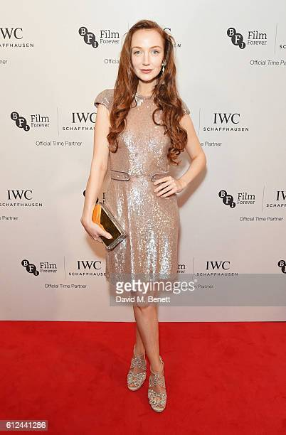 Olivia Grant attends the IWC Schaffhausen Dinner in Honour of the BFI at Rosewood London on October 4 2016 in London England