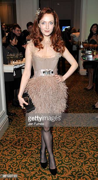 Olivia Grant attends the Jameson Empire Film Awards at The Grosvenor House Hotel on March 28 2010 in London England