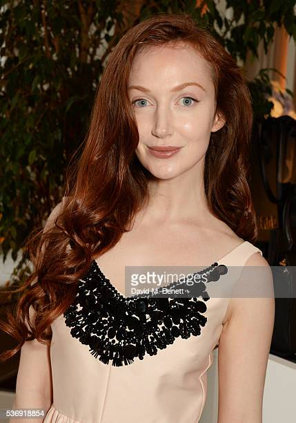 Olivia Grant attends the launch of British fashion brand Sienna Jones' debut collection 'The Marina Range' at The Orangery, Kensington Palace, on...
