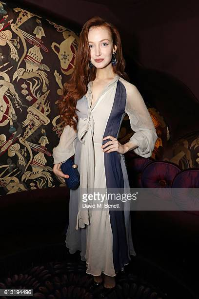 Olivia Grant attends the Moncler Freeze For Frieze Dinner Party at the Moncler Bond Street Boutique on October 7 2016 in London United Kingdom