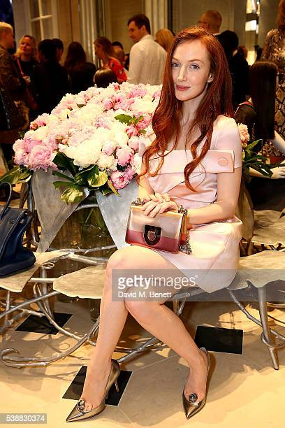 Olivia Grant attends the opening of the House Of Dior on New Bond Street on June 8 2016 in London England