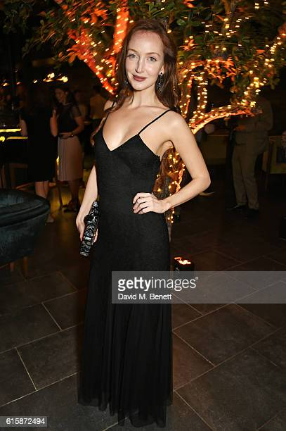 Olivia Grant attends the Tatler Little Black Book party with Polo Ralph Lauren at Restaurant Ours on October 20, 2016 in London, England.