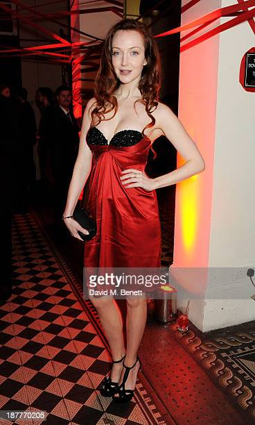 Olivia Grant attends the Tunnel of Love fundraiser in aid of the British Heart Foundation at One Mayfair on November 12 2013 in London England