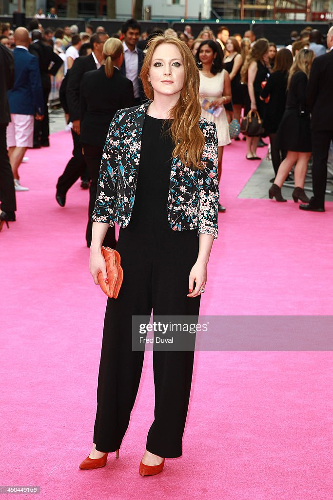 Olivia Hallinan attends the UK Premiere of 'Walking On Sunshine' at Vue West End on June 11, 2014 in London, England.