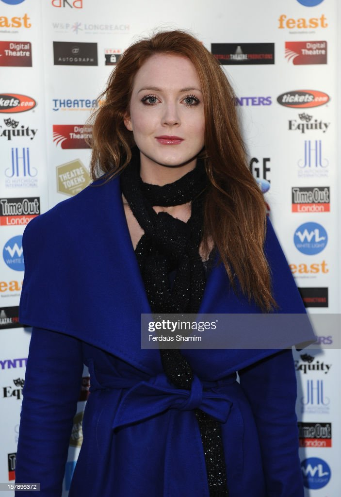 Olivia Hallinan attends the Whatsonstage.com Theatre Awards nominations launch at Cafe de Paris on December 7, 2012 in London, England.