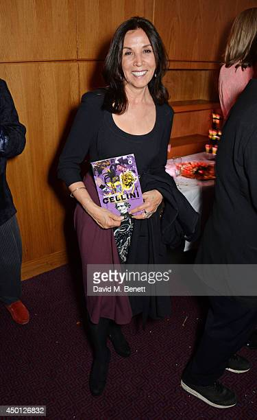 Olivia Harrison attends an after party celebrating the press night performance of Benvenuto Cellini directed by Terry Gilliam for the English...