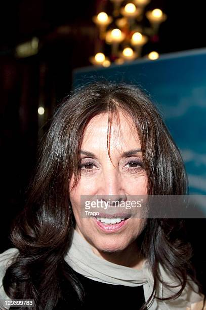 Olivia Harrison attends George Harrison 'Living In The Material World' at Grand Rex Paris Premiere at Grand Rex on October 16 2011 in Paris France