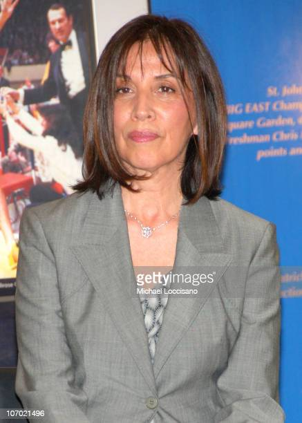 Olivia Harrison during Madison Square Garden Commemoration of the 35th Anniversary of George Harrison's Concert for Bangladesh at Madison Square...