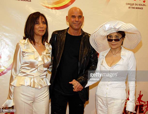 Olivia Harrison Guy Laliberte Founder and CEO of Cirque du Soleil and Yoko Ono
