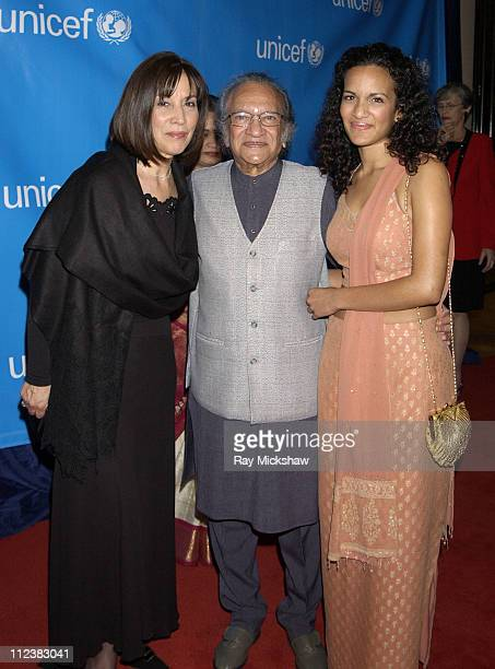 Olivia Harrison Ravi Shankar and Anoushka Shankar