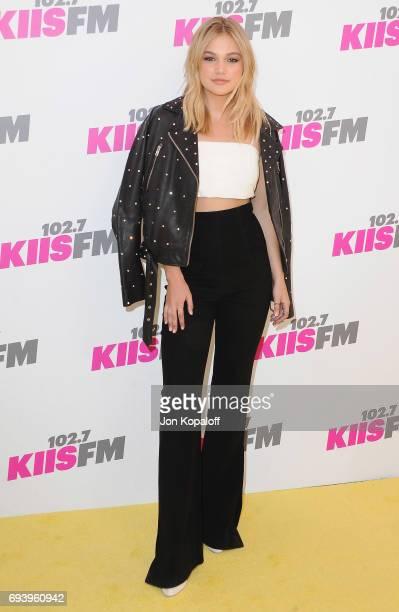 Olivia Holt arrives at 1027 KIIS FM's 2017 Wango Tango at StubHub Center on May 13 2017 in Carson California