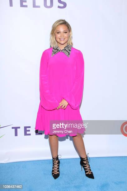 Olivia Holt arrives to WE Day Toronto and the WE Carpet at Scotiabank Arena on September 20 2018 in Toronto Canada