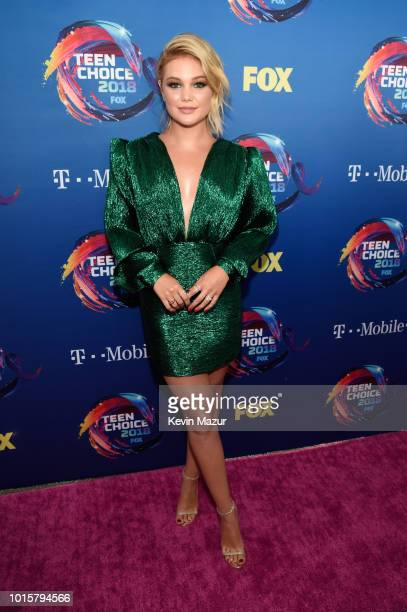 Olivia Holt attends FOX's Teen Choice Awards at The Forum on August 12 2018 in Inglewood California