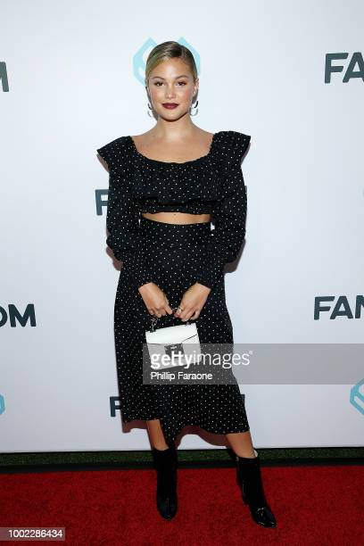 Olivia Holt attends the Fandom Party during ComicCon International 2018 at Float at Hard Rock Hotel San Diego on July 19 2018 in San Diego California