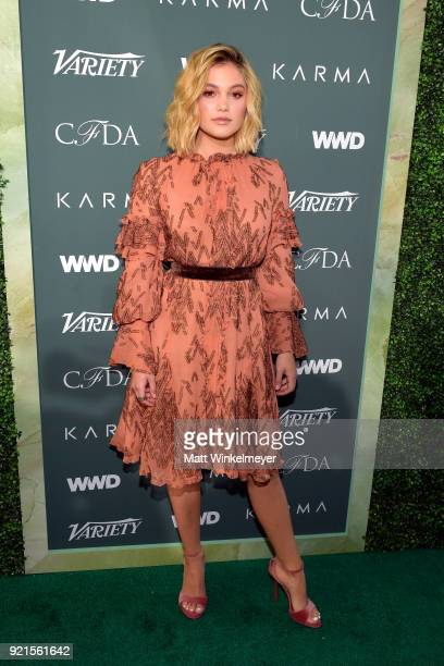 Olivia Holt attends the Runway To Red Carpet hosted by Council of Fashion Designers of America Variety and WWD at Chateau Marmont on February 20 2018...