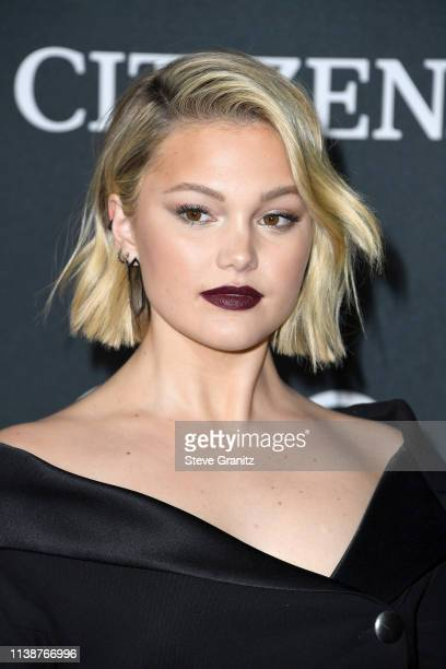 Olivia Holt attends the world premiere of Walt Disney Studios Motion Pictures Avengers Endgame at the Los Angeles Convention Center on April 22 2019...