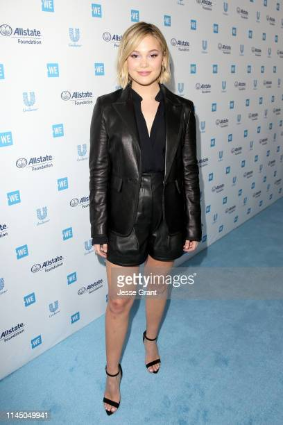 Olivia Holt attends WE Day California at The Forum on April 25 2019 in Inglewood California