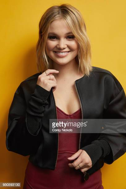 Olivia Holt from 'Marvel's Cloak Dagger' poses for a portrait in the Getty Images Portrait Studio Powered by Pizza Hut at the 2018 SXSW Film Festival...