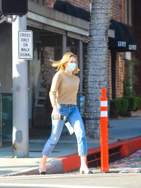 CA: Celebrity Sightings In Los Angeles - November 23, 2020