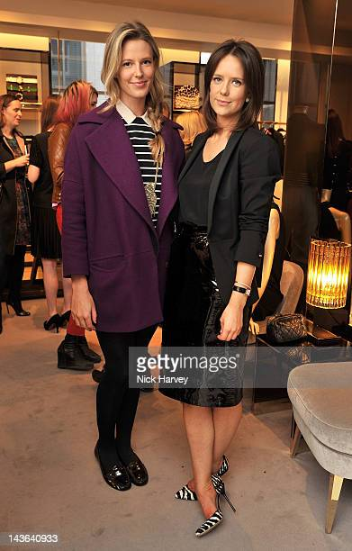 Olivia Hunt and Arabella Musgrave attends the Gucci Hosts 'Very Classy' by Derek Blasberg at the Gucci Store on May 1 2012 in London England