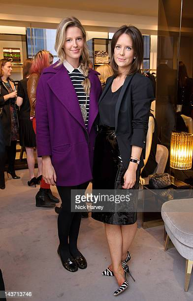Olivia Hunt and Arabella Musgrave attends the Gucci Hosts Very Classy by Derek Blasberg at the Gucci Store on May 1 2012 in London England