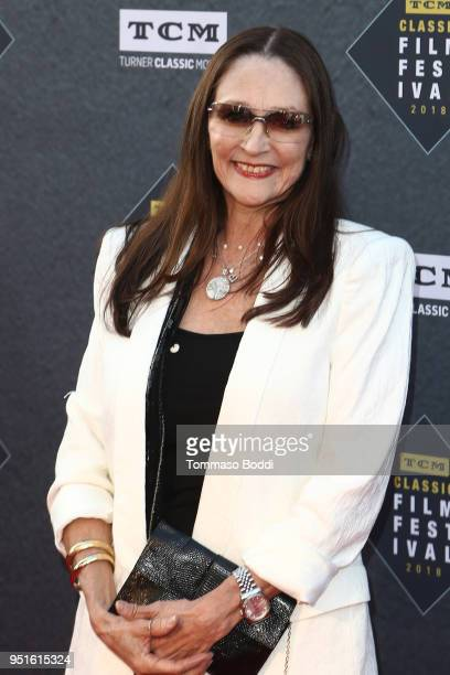 "Olivia Hussey attends the 2018 TCM Classic Film Festival - Opening Night Gala - 50th Anniversary World Premiere Restoration Of ""The Producers"" at TCL..."