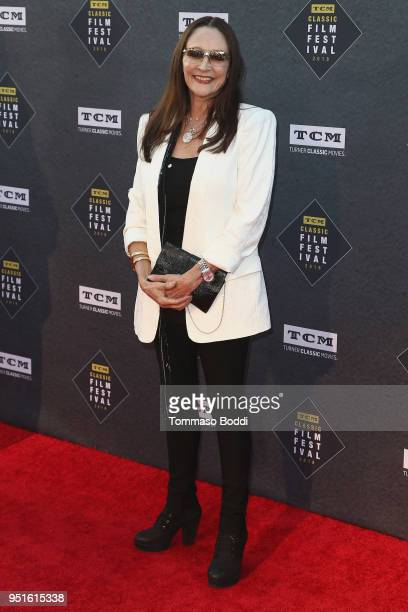 Olivia Hussey attends the 2018 TCM Classic Film Festival Opening Night Gala 50th Anniversary World Premiere Restoration Of The Producers at TCL...