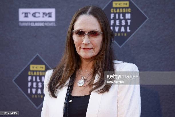Olivia Hussey attends the 2018 TCM Classic Film Festival Opening Night Gala 50th Anniversary World Premiere Restoration of 'The Producers' at TCL...