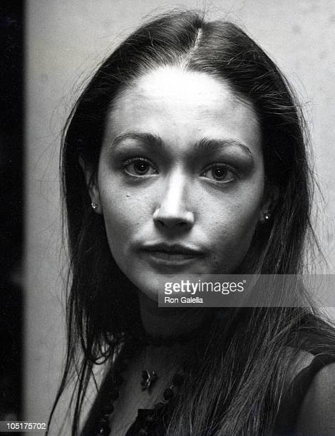Olivia Hussey during Tribute to Henry Mancini March 3 1977 at Bonaventure Hotel in Los Angeles CA United States