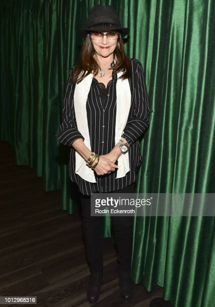 Olivia Hussey presents her memoir Girl on the Balcony at Vroman's Bookstore on August 7 2018 in Pasadena California