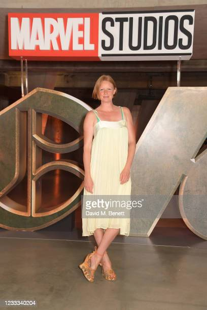 """Olivia Inge attends a special preview screening of Marvel Studios """"Loki"""" presented by Disney+ on June 8, 2021 in London, England."""