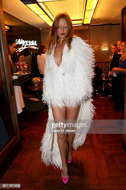 Olivia Inge attends the launch of The Rupert Sanderson Champagne Slipper For 34 Mayfair at 34 Mayfair on November 8 2016 in London England