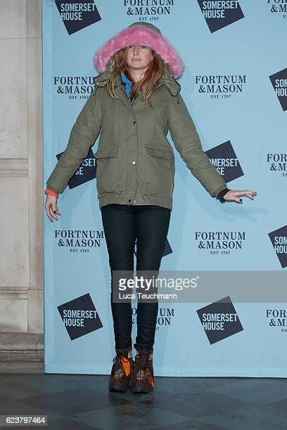 Olivia Inge attends the launch party for Skate at Somerset House with Fortnum Mason at Somerset House on November 16 2016 in London England