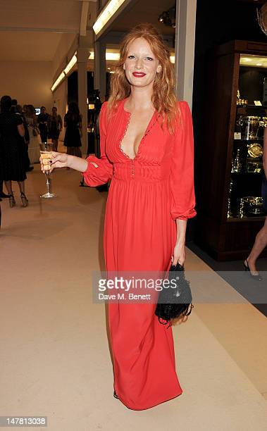 Olivia Inge attends the Masterpiece Midsummer Party in aid of Clic Sargent at The Royal Hospital Chelsea on July 3 2012 in London England