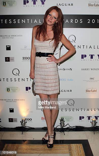 Olivia Inge attends the Quintessentially Awards at Freemasons Hall on June 1 2010 in London England