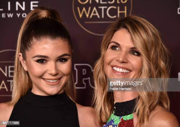Olivia Jade and Lori Loughlin attend People's Ones To Watch at NeueHouse Hollywood on October 4 2017 in Los Angeles California