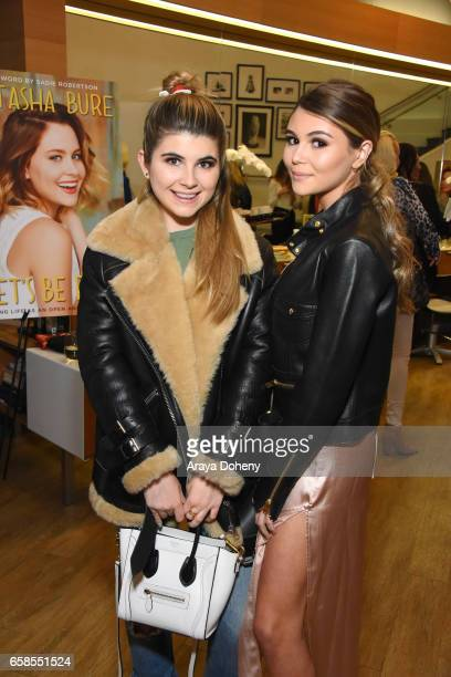 Olivia Jade attends Natasha Bure 'Let's Be Real' Los Angeles book launch party at Eden By Eden Sassoon on March 24 2017 in Los Angeles California