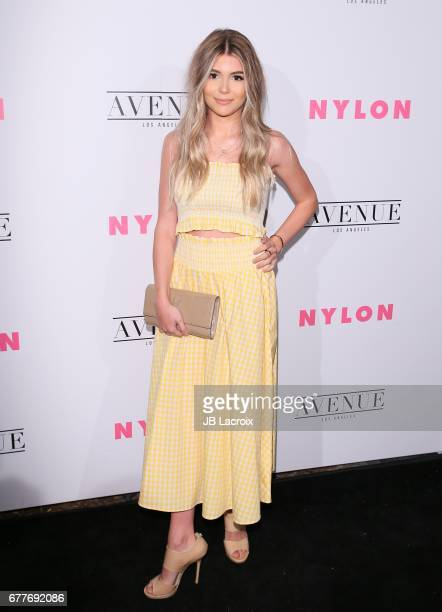 Olivia Jade Giannulli attends the NYLON Young Hollywood Party at AVENUE Los Angeles on May 2 2017 in Los Angeles California