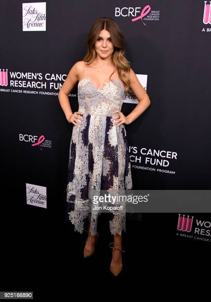 Olivia Jade Giannulli attends The Women's Cancer Research Fund's An Unforgettable Evening Benefit Gala at the Beverly Wilshire Four Seasons Hotel on...