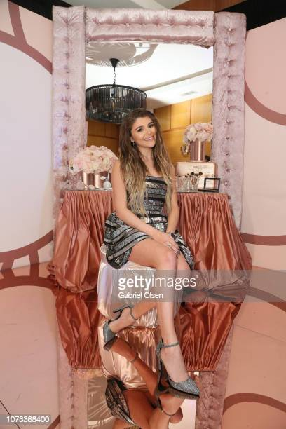 Olivia Jade Giannulli celebrates the Olivia Jade X Sephora Collection Palette Collaboration Launching Online at Sephoracom on December 14 2018 in...