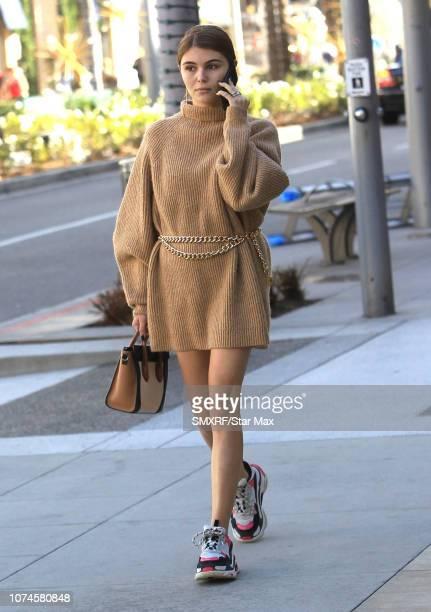 Olivia Jade Giannulli is seen on December 21 2018 in Los Angeles CA
