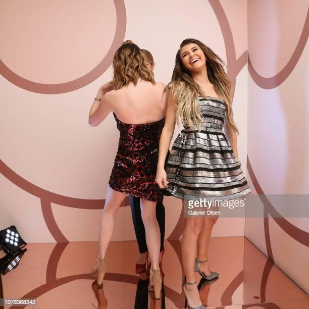 Olivia Jade Giannulli Lori Loughlin and Isabella Rose Giannulli celebrates the Olivia Jade X Sephora Collection Palette Collaboration Launching...