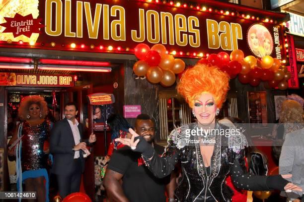 Olivia Jones during the 10th Anniversary of Olivia Jones Bar on November 13 2018 in Hamburg Germany