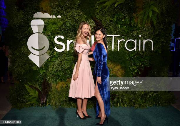 Olivia Jordan and Pia Wurtzbach attend Smile Train's 20th Anniversary Gala at Capitale on May 02 2019 in New York City