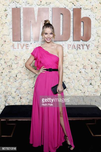 Olivia Jordan attends the IMDb LIVE Viewing Party on March 4 2018 in Los Angeles California