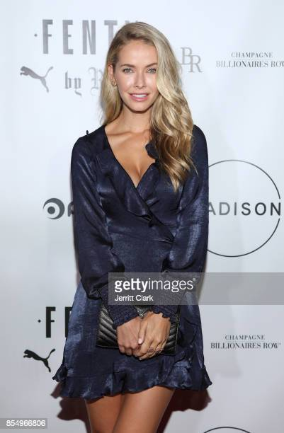 Olivia Jordan attends the Launch Of FENTY PUMA By Rihanna A/W 2017 Collection at Madison Beverly Hills on September 27 2017 in Beverly Hills...