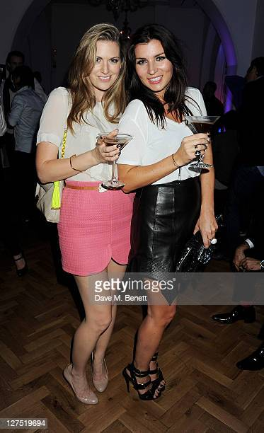 Olivia Lee and Grace Woodward attend the Quintessentially Awards 2011 at One Marylebone on September 28 2011 in London England