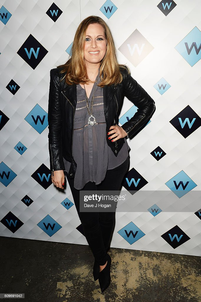 Olivia Lee attends a celebration of the new TV channel 'W,' launching on Monday 15th February, at Union Street Cafe on February 11, 2016 in London, England.