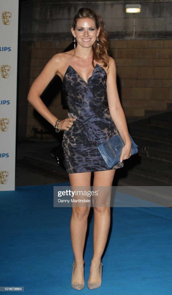 Olivia Lee attends the after party for the Philips British Academy Television awards (BAFTA) at Natural History Museum on June 6, 2010 in London, England.