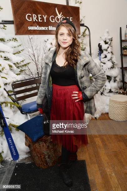 Olivia Luccardi attends as Grey Goose Blue Door hosts the casts of gamechanging films during the Sundance Film Festival at The Grey Goose Blue Door...